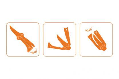 Način otvaranja i zatvaranja Kupilka noževa