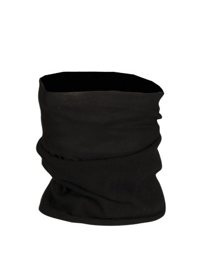 Višenamjenska marama flis - Crna
