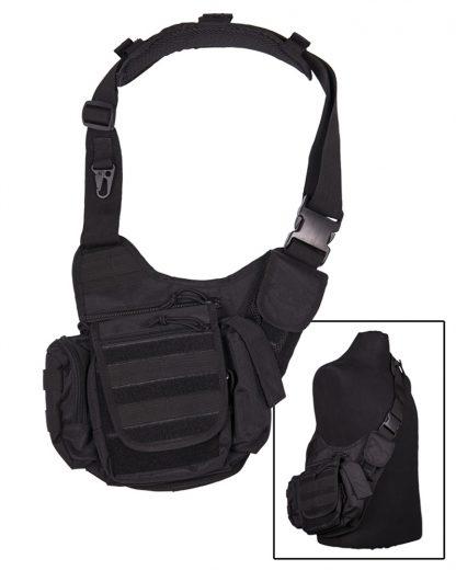 Multifunctional sling bag - Crna