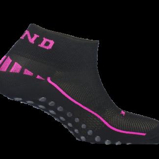 Čarape Mund Nonslip Roza