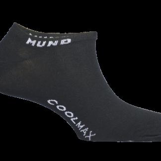 Čarape Mund Invisible Coolmax Crna
