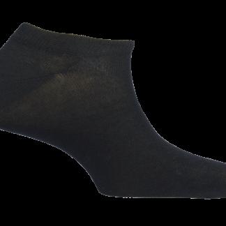 Čarape Mund Invisible Crna