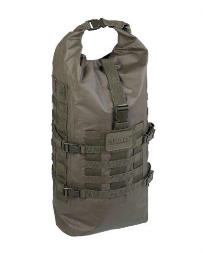 Vodootporni taktički ruksak - Zelena