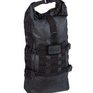 Vodootporni taktički ruksak - Crna