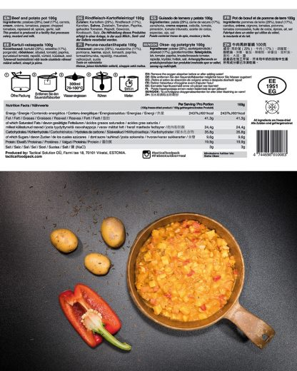 TACTICAL FOODPACK® - Goveđi gulaš s krumpirom