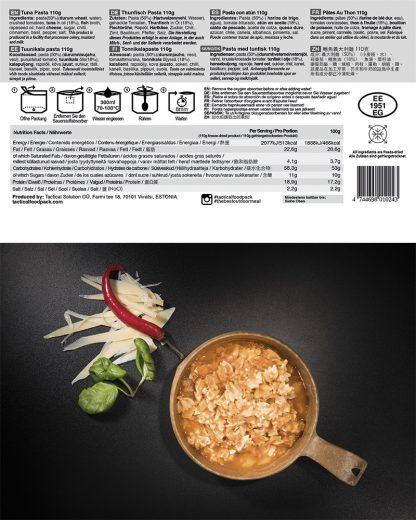 TACTICAL FOODPACK® - Tjestenina s tunom
